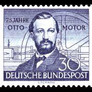 Briefmarke 75 Jahre Otto Motor