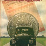Werbeplakat für den Sparplan des KdF-Wagens