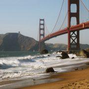Das Foto der Golden Gate Bridge, fotografiert von Urban