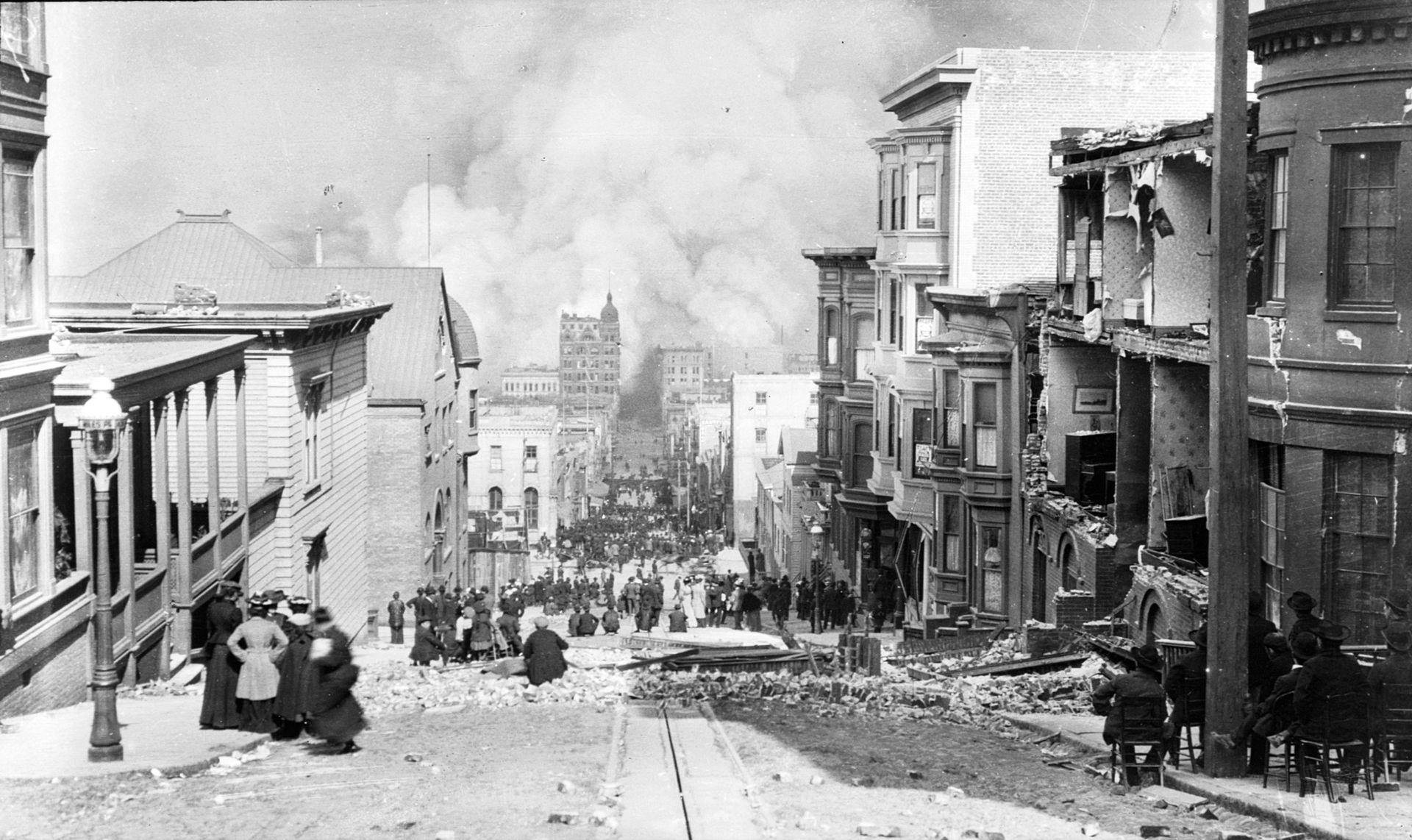 18 April 1906 Ein Erdbeben Zerstört San Francisco Redaktorde